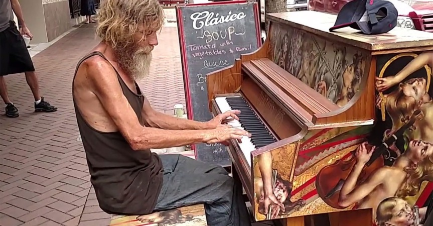 Homeless Pianist Has Contract Cancelled After Purchasing Home