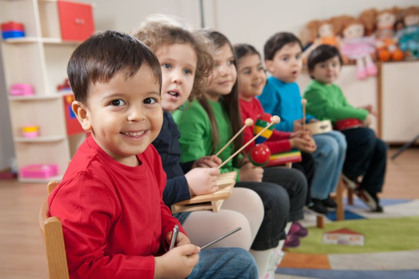"Tense Class Of 1st Graders Waiting For Classmate To Say ""Underwear"" Again"