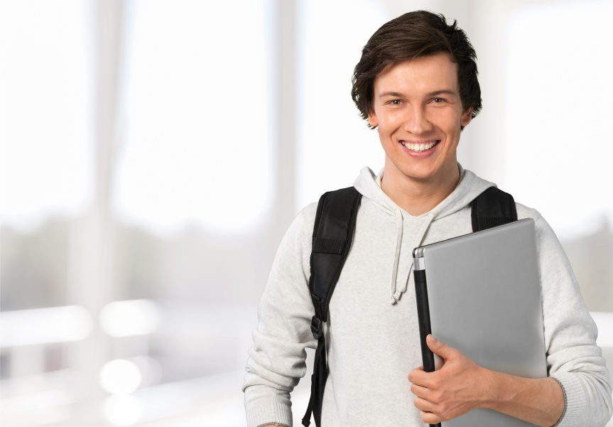 Weary Student is Re-Invigorated as Hunger Starts to Cancel out Fatigue