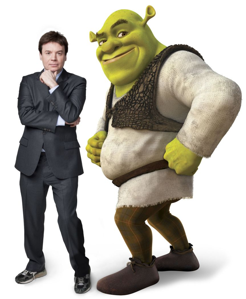 More Hollywood Whitewashing: Shrek Played by a White, Non-Scottish Male.